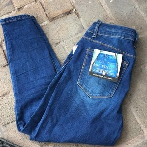 Royalty For Me Muffin Top Slimming High Rise Jeans